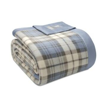 True North by Sleep Philosophy Plaid Micro-Fleece King Blanket Bedding