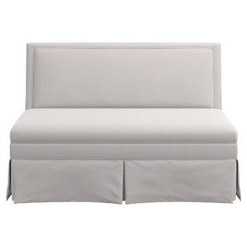 Skirted Settee - Skyline Furniture