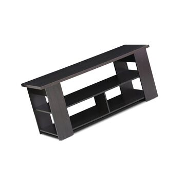 Furinno Jaya TV Stand Brown 50 Free Shipping