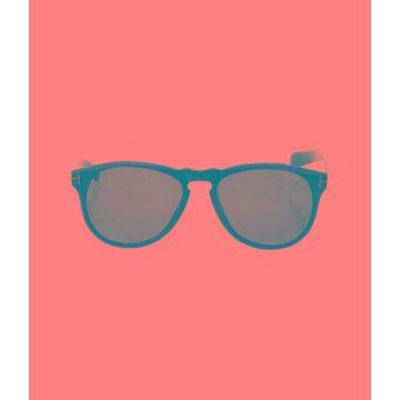 Flynn Wayfarer Sunglasses Brown