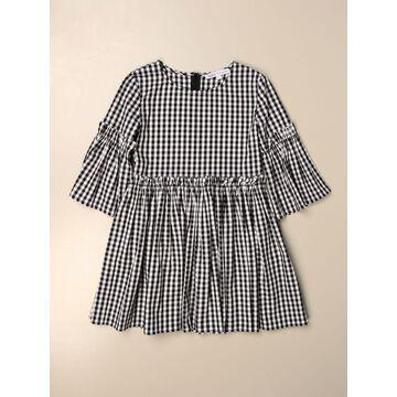 Patrizia Pepe short dress in vichy cotton