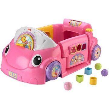 Fisher-Price Laugh & Learn Crawl Around Car - Pink