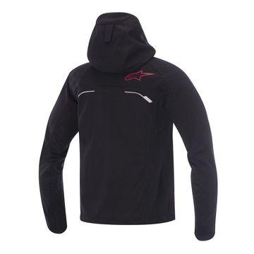 Alpinestars Spark Softshell Jacket - Gray/Red - Large