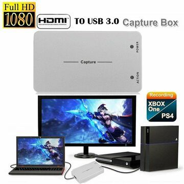 Superior Video Capture Box HDMI To USB 3.0 Game Recording HD 1080P Linux oS MY