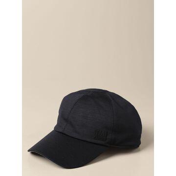 Z Zegna Hat Z Zegna Baseball Cap In Tech Wool