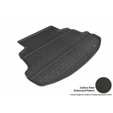 3D MAXpider 2014-2016 Toyota Corolla All Weather Cargo Liner in Black with Carbon Fiber Look