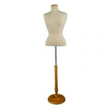 Econoco - F5WB - Female Blouse Form Tailor Bust with Neckblock and Base Included - Sold Individually