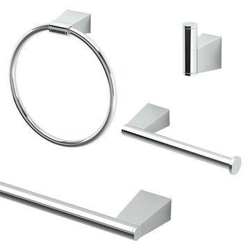 Gatco Bleu 4-Piece Bathroom Accessory Kit