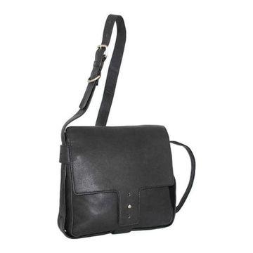 Nino Bossi Women's Carmen Crossbody Bag Black - US Women's One Size (Size None)