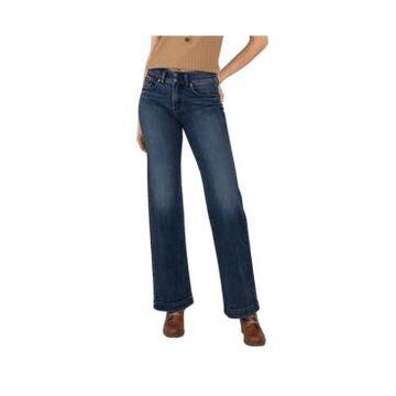 Silver Jeans Co. Women's Avery High Rise Trouser Leg Jeans