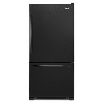 Amana Black Bottom Freezer Refrigerator