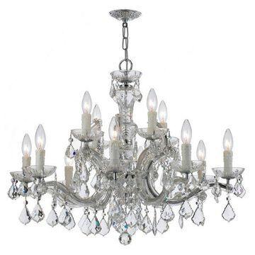 Crystorama Maria Theresa 12-Light Crystal Chandelier