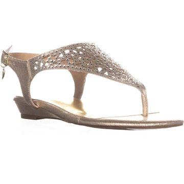 Thalia Sodi Womens Ilyssa Open Toe Casual Slingback Sandals