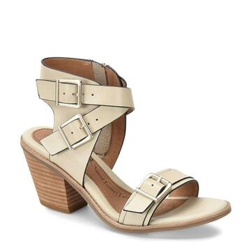 Sofft Womens marlyn Leather Open Toe Casual Ankle Strap
