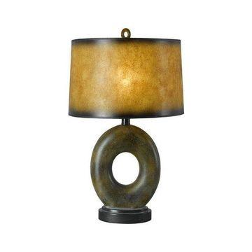 Cal Lighting BO-956 1 Light Pedestal Base Table Lamp