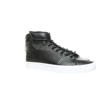Creative Recreation Womens Savona Black Leather Fashion Sneaker Size 8