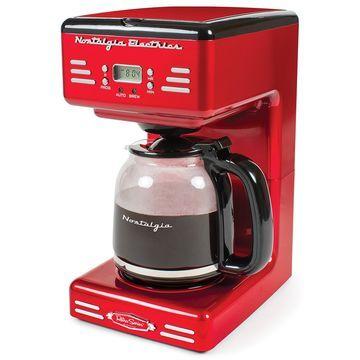 Nostalgia Electrics Retro 12-Cup Programmable Coffee Maker