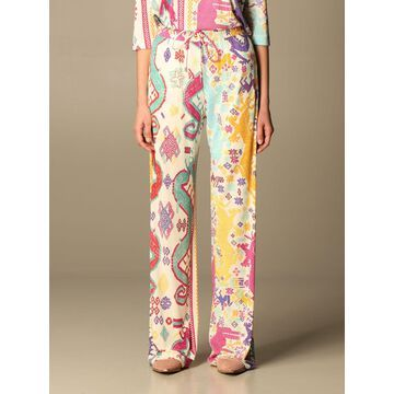 Patmos Etro jogging trousers in printed viscose