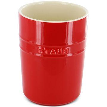 Cherry Ceramic Utensil Holder