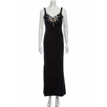 Vintage Long Dress Blue