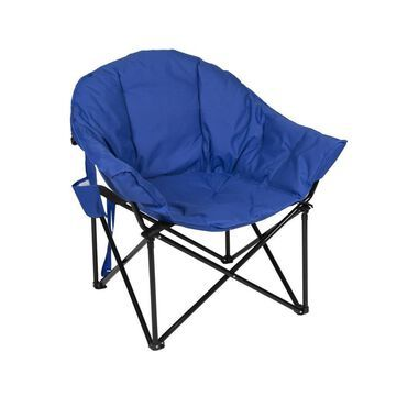 Stansport Blue Folding Camping Chair Polyester