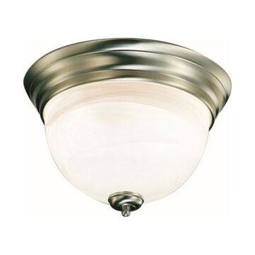 Volume Lighting Troy 3-Light Flush Mount Ceiling Fixture