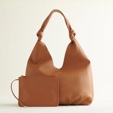 Elizabeth and James Knotted Soft Hobo Bag