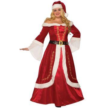 Forum Novelties Premium Mrs. Claus Plus Size Costume (3XL) - Red/White