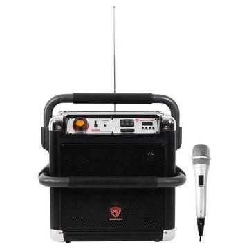 ''Rockville RJS8 8'''' Portable Rechargable Home Theatre Bluetooth Speaker+Microphone''