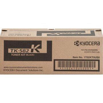 Kyocera Mita TK582K Black Toner Cartridge High Yield