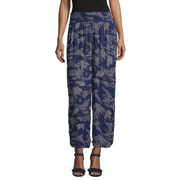 a.n.a Mid Rise Cropped Pants