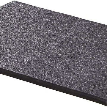 MidWest QuietTime Cushioned Antimicrobial Dog Crate Mat, Black