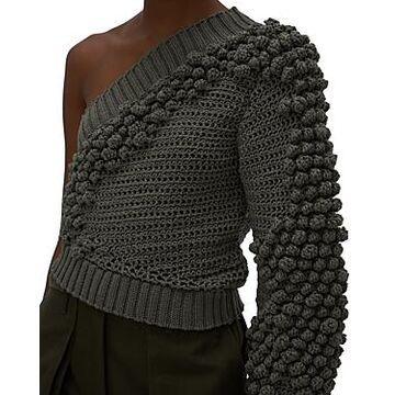 Helmut Lang One Shoulder Sweater