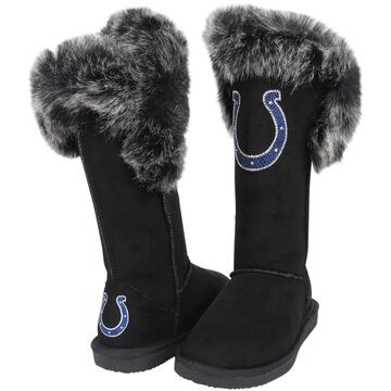 Women's Cuce Black Indianapolis Colts Devoted Boots