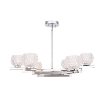 Woodbridge Lighting 18516 Jewel 6-light Chandelier