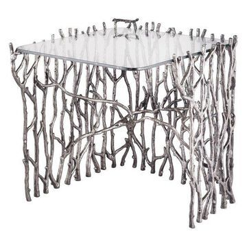Dimond Home Small Silvered Sticks Side Table