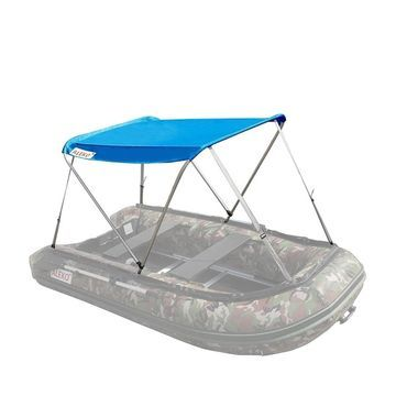 ALEKO Summer Canopy Blue Tent for 8.4 ft Inflatable Boats