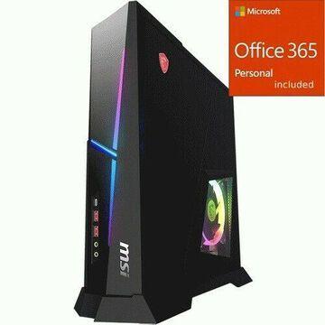 MSI Trident X Trident X Plus 9SD-055US Gaming Desktop Comput + Office 365 Bundle