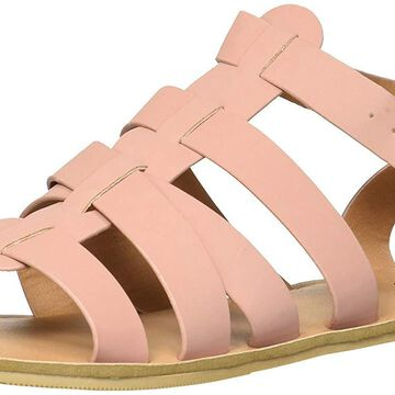 Qupid Womens athena Open Toe Casual Gladiator Sandals