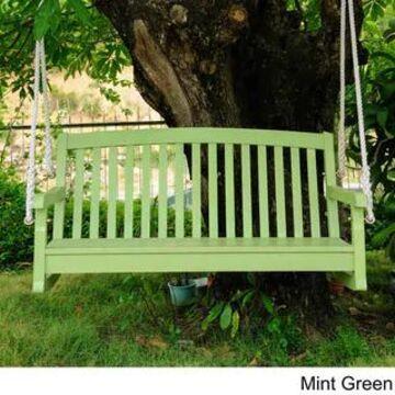 International Caravan Royal Fiji Porch Swing (Mint Green)