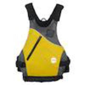 NRS Vapor Adult Large XLarge PFD Type III Boating Kayak Life Jacket Vest, Yellow