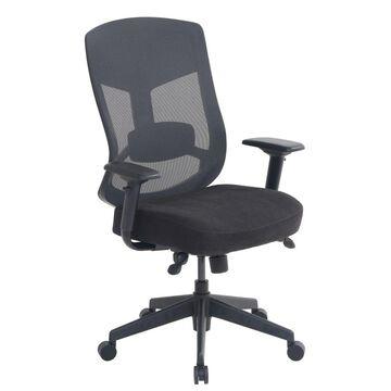 Serta Commercial Motif Mesh Executive Big And Tall Chair, Black