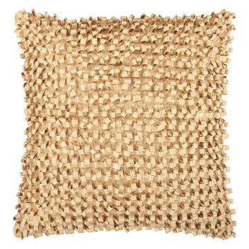 Surya Links Decorative Pillow - Gold