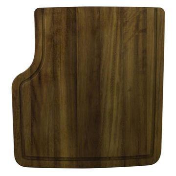 ALFI brand 18.5-in L x 17.25-in W Wood Cutting Board in Brown | AB45WCB