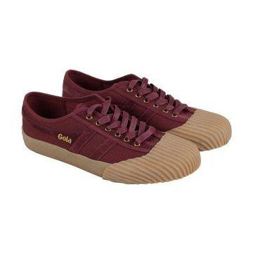 Gola Monarch Burgundy Gum Mens Low Top Sneakers