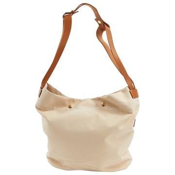 Loro Piana Beige Cloth Handbag