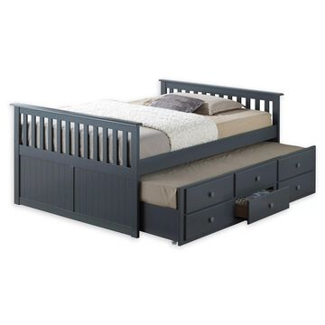 Broyhill& Kids Marco Island Full Captain's Bed with Trundle and Drawers