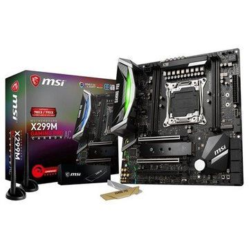 MSI Motherboard X299M GAMING PRO CARBON AC