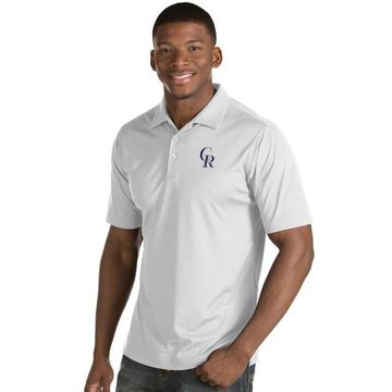 Men's Antigua Colorado Rockies Inspire Polo