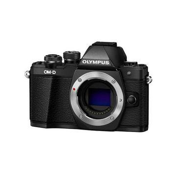 ''Olympus OM-D E-M10 Mark II Mirrorless Camera Body, Black''